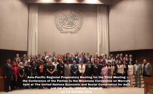 ASIA and PACIFIC Regional Consultations for the third meeting of the Conference of the Parties to the Minamata Convention on Mercury, Bangkok, Thailand, 7-8 October 2019
